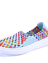Women's Sneakers Summer Comfort PU Casual Braided Strap