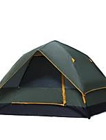 3-4 personnes Tente Double Tente automatique Une pièce Tente de camping 1000-1500 mmCamping / Randonnée Chasse Pêche Escalade Camping