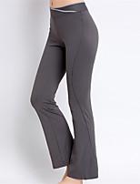 Pantalon de yoga Collants Respirable Séchage rapide Taille moyenne Haute élasticité Vêtements de sport FemmeYoga Pilates Exercice &
