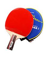 1 Star Ping Pang/Table Tennis Rackets Ping Pang Wood Short Handle Pimples