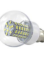 4.5W B22 Ampoules Globe LED 69 SMD 5730 420 lm Blanc Chaud Blanc Froid V 1 pièce