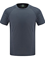 LEIBINDI®Men's Short Sleeve Running T-shirt Breathable Quick Dry Wearable Summer Sports Wear Exercise & Fitness Running