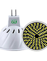 5W GU10 GU5.3(MR16) Spot LED MR16 128 SMD 3014 400-500 lm Blanc Chaud Blanc Froid Blanc Naturel Gradable Décorative AC 100-240 V 1 pièce