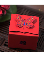 10 Piece/Set Favor Holder-Cubic Card Paper Favor Boxes Gift Boxes Non-personalised