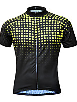 Cycling Jersey Men's Short Sleeve Bike JerseyQuick Dry Breathable Soft Lightweight Materials Back Pocket Sweat-wicking Comfortable UV