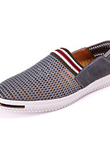 Men's Loafers & Slip-Ons Summer Comfort Tulle Casual Hollow-out Dark Blue Dark Grey Khaki