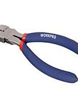 Wan bao 6 couleur rouge et bleu avec poignée en plastique Le bouche oblique est fabriqué en forgeage de précision en acier de haute