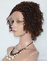 жен. Парики из искусственных волос Лента спереди Свободные волны Темно-рыжий Парики для косплей Карнавальные парики