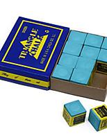 Cue Мел Синий Снукер Чехол в комплекте Маленький размер Компактный размер