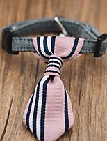 Chat Chien Cravate/Noeud Papillon Vêtements pour Chien Hiver Eté Printemps/Automne BritanniqueMignon Vacances Mode Décontracté /