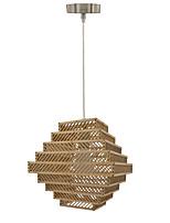 Závěsná světla ,  moderní - současný design Tradiční klasika Venkovský styl Ada Retro Země Dřevo vlastnost for návrháři Dřevo / bambus