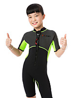 Kid's Wetsuits Quick Dry Ultraviolet Resistant Insulated Anti-Eradiation Nylon Neoprene Diving Suit Short Sleeve Diving Suits-Swimming