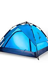 JUNGLEBOA 3-4 человека Световой тент Двойная Автоматический тент Однокомнатная Палатка 1500-2000 ммВлагонепроницаемый Водонепроницаемый
