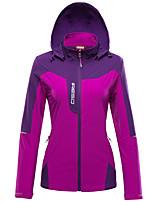 Femme Veste Hauts/Tops Camping / Randonnée Chasse Escalade Hors piste Etanche Respirable Séchage rapide Pare-vent Résistant à la poussière