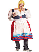 Carnival Costume Lady Funny Maid Inflatable German Costume Make Up Party Fancy Carnival Costumes For Women Deguisement Adultes