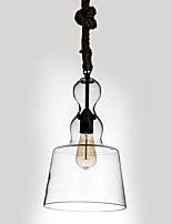 Lampe suspendue ,  Traditionnel/Classique Rustique Retro Rétro Lanterne Peintures Fonctionnalité for Style mini Designers VerreSalle de