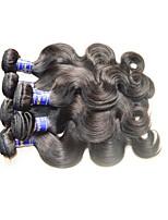 Atacado 8a virgem peru corpo onda cabelo humano 6bundles 600g lote para duas meninas cabeça preço barato produtos de cabelo não