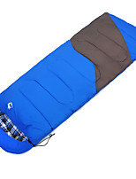 Sleeping Bag Rectangular Bag Single -10--10 Hollow Cotton80 Camping OutdoorMoistureproof/Moisture Permeability Waterproof Breathability