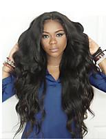 8 '' - 22 '' body wave 360 perruques frontales en dentelle avec cheveux bébé 180% de densité cheveux vierges brésiliens pour les femmes