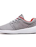 Herren-Sneaker-Outddor Lässig Sportlich-Tüll-Flacher Absatz-Komfort-
