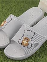 Women's Slippers & Flip-Flops Summer Slingback Rubber Casual Flat Heel Blue Red Gray