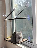 Кошка Собака Кровати Животные Одеяла Компактность Двусторонний Дышащий Складной Мягкий Черный