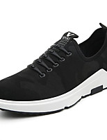 Men's Athletic Shoes Spring Fall Comfort Tulle Outdoor Flat Heel Lace-up