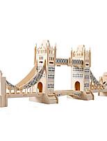 Rompecabezas Puzzles 3D Bloques de construcción Juguetes de bricolaje Madera Modelismo y Construcción