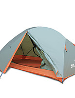 LYTOP/飞拓 2 persons Tent Double Fold Tent One Room Camping Tent Fiberglass OxfordWaterproof Breathability Ultraviolet Resistant Windproof