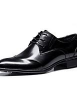 Для мужчин Туфли на шнуровке Удобная обувь Наппа Leather Весна Лето Осень Зима Свадьба Повседневные Для вечеринки / ужина Для прогулок