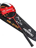 Raquettes de Badminton Etanche Indéformable Durable Légère Stabilité Fibre de carbone 1 Pièce pourExtérieur Utilisation Exercice Sport de