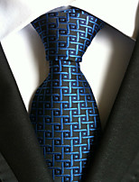 Men's Polyester Neck TieParty Work Polka Dot All Seasons W0006