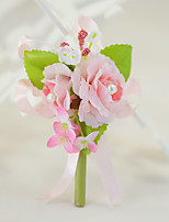 YUXIYING Wedding Mini Roses Boutonnieres Wedding Party/ Evening Cotton Silk