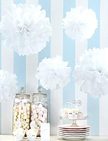 Wedding Decor (Set of 10) - 8 inch Paper Pom Tissue Flower Beter Gifts® Party Supplies