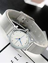 Women's Fashion Watch Quartz Alloy Band Vintage Cool Casual Silver