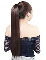Neitsi 1Pcs 115g Wrap Around Ponytail Hair Extensions Striaght Synthetic Hairpieces M2/33#