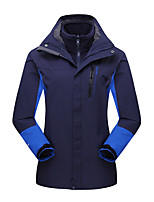 LEIBINDI®Women's Winter Jacket 3-in-1 Outdoor Jackets Skiing Camping / Hiking Snowsports  Waterproof Breathable Thermal / Warm Windproof
