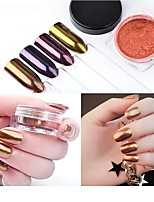 1 PC Nail Art The Magic Mirror Powder Local Tyrants  Local Tyrants Gold 2 g Pack 4 Color