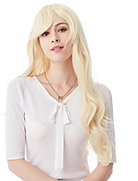 80CM Blonde Long Big Wavy Cosplay Synthetic Hair Wigs for Women 10 Colors Available