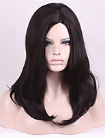 Long Straight Beige Women Synthetic Wig Fiber Cheap Cosplay Party Wig Hair