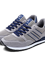 Men's Sneakers Spring Fall Comfort PU Casual Lace-up Blue Gray