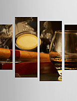 Фотографические отпечатки Натюрморт Modern Европейский стиль,5 панелей Холст Любая форма Печать Искусство Декор стены For Украшение дома