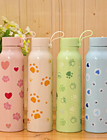 Qute Lovely Solid Color Non Disposable Glass Bottle (Random Type)