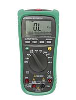 Mastech ms8260g gama automática multímetro digital ohm tensão e corrente medidor de freqüência capacitância com ncv temperatura