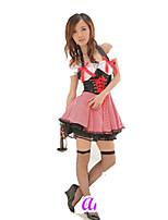 Инвентарь Классическая и традиционная Лолита Лолита Косплей Платья Лолиты Однотонный С короткими рукавами Короткие / Мини Для