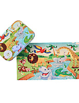 Jigsaw Puzzles Wooden Puzzles Building Blocks DIY Toys Square 1 Wood Leisure Hobby