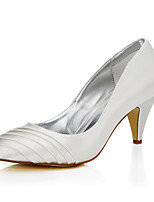 Women's Dyeable Wedding Shoes Fall Winter Comfort Club Shoes Silk Wedding Outdoor Office & Career Dress Party & EveningStiletto