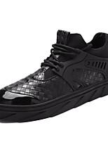 Homme Chaussures d'Athlétisme Confort Semelles Légères Polyuréthane Eté Automne Extérieure Décontracté Sport Course à Pied Talon Plat