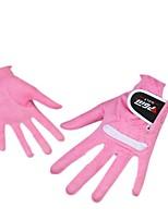 Une paire de gants de golf pour dames super fibre tissu