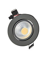 3W LED Downlights Recessed light COB 250 lm Warm White Cool White Natural White Decorative AC85-265 V 1 pcs